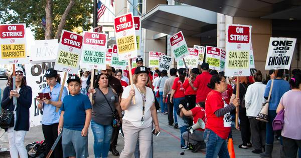 Seven ways to support the Marriott workers on strike
